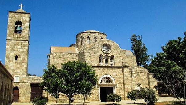 Cyprus, Famagusta, Ayios Varnavas, Monastery, Church