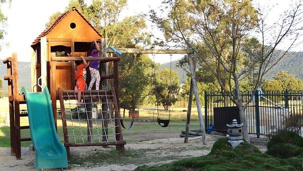 Children, Playground, Kids Playground, Happy Children