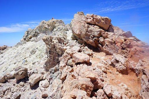 Teide, Rise, Summit, Trail, Path, Hike, Pico Del Teide