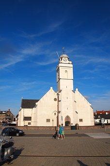 Church, White Church, Reformed Church, Katwijk