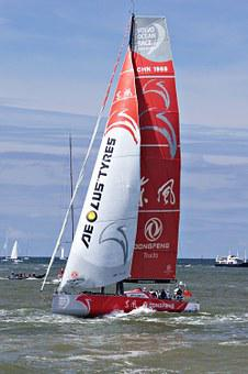 Volvo Ocean Race, Scheveningen, Regatta, Sailing Boat