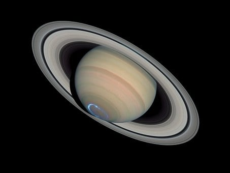 Saturn, Planet, Saturn's Rings, Solar System, Aurora