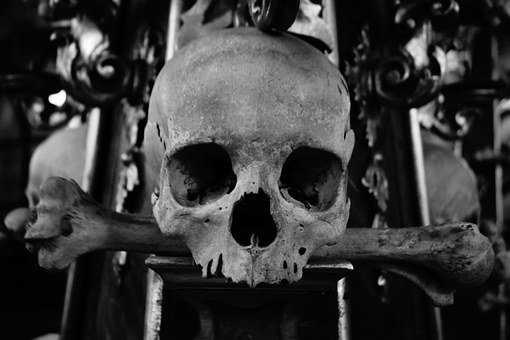 Skull And Crossbones, Skull, Bone Church, Church