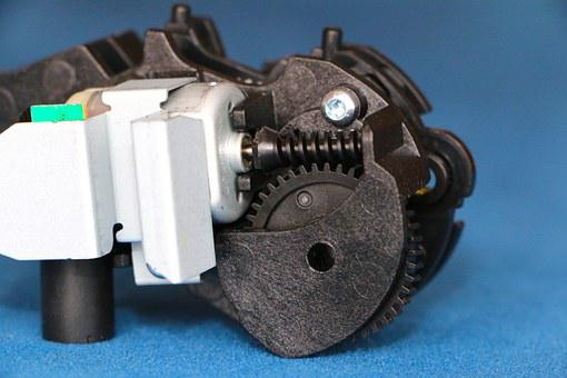 Small Mechanics, Motor, Worm Gear, Miniature