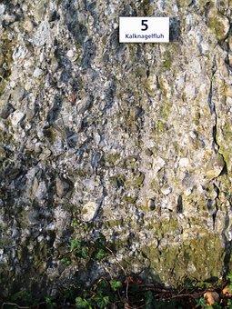 Nagelfluh, Rock, Limestone Conglomerate, Stone