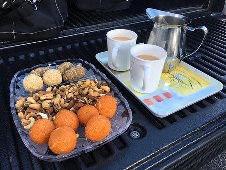 Tea, Laddu, Chai, Fresh, Masala, India, Blue Tea