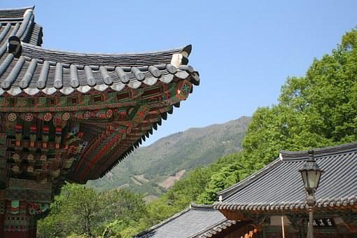 Korea, Buddhist Temple, Tranquil