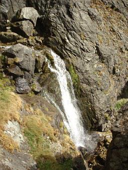 Vidimsko Praskalo, Waterfall, Mountain, Rocks