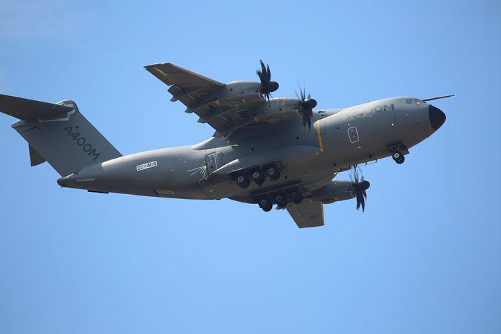 Aircraft, Airbus, A400m, Flight