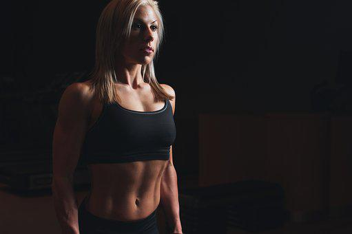 Abs, Athlete, Biceps, Blonde, Body, Fit, Fitness, Gym