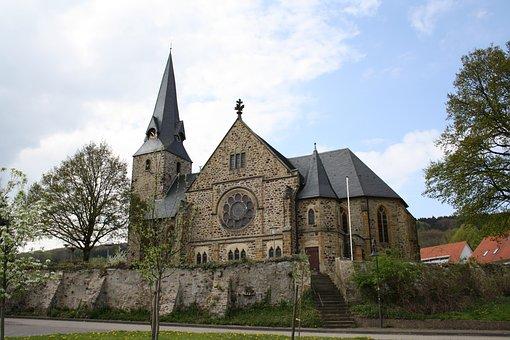 Church, Lutheran, Bartholomew, Saint, Architecture