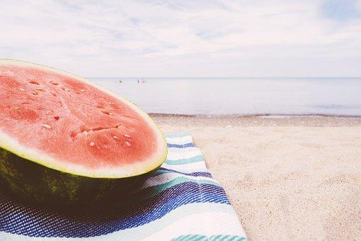 Beach, Blanket, Close-up, Food, Fresh, Fruit, Health