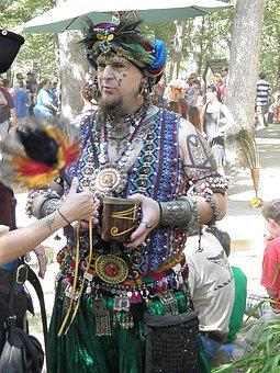 Renaissance Faire, Costume, Clothing, Fantasy