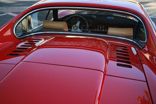 Dino, Ferarri, Classic, Vintage, Sports Car, Car