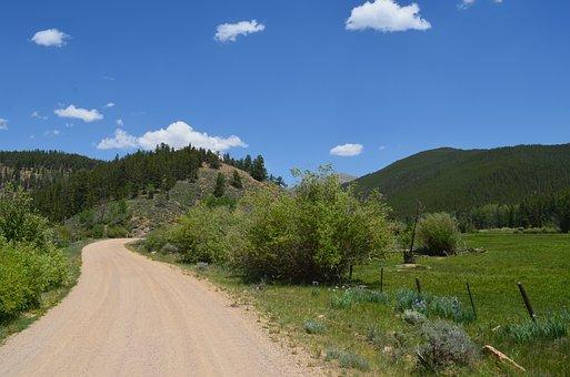 Gravel Road, Path, Summer, Direction, Road, Way