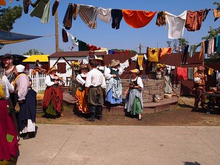 Renaissance Faire, Renaissance, Fair, Woman