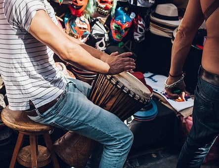 Adult, Band, Concert, Festival, Fun, Group, Guitar
