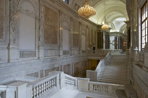 Marble, New Castle, Vienna, Hofburg Imperial Palace