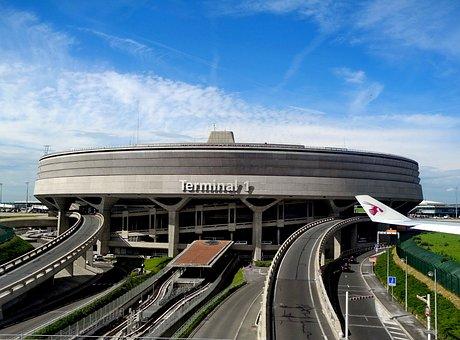 Charles De Gaulle, International Airport, Paris, France