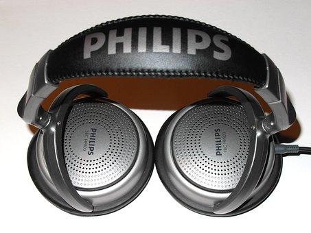 Headphones, Philips Headphones, Music, Listening, Audio