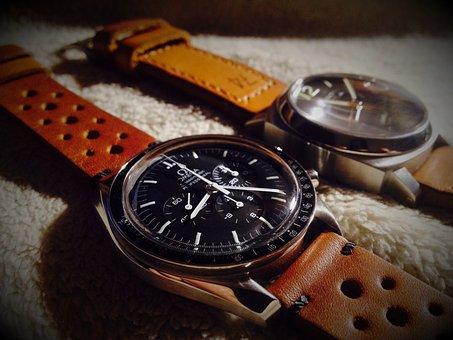 Clock, Panerai, Omega, Watch The Moon