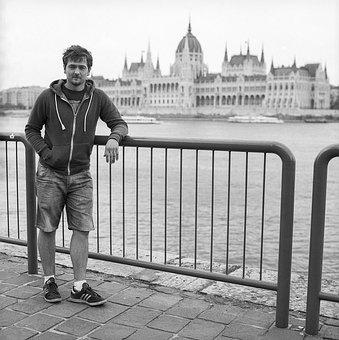 Urban, Budapest, Parlament, Portrait, Hungary, Male