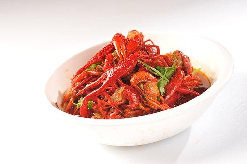 Spicy Crayfish, Specials, Spicy Taste, Coriander, Red