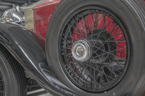 Oldtimer, Wheel, Auto, Mature, Automotive, Rim