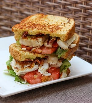 Sandwich, Blt, Seafood, Bacon, Food, Toasted, Lunch