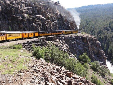 Train, Steam, Locomotive, Transportation, Railway