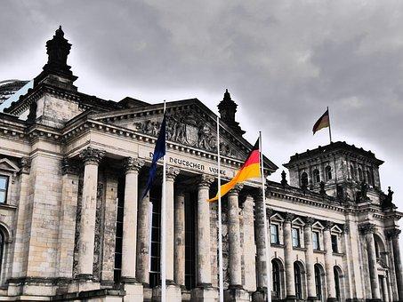 Reichstag, Berlin, Germany, The German Volke