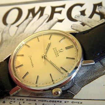 Watch, Time, Wrist Watch, Grunge, Omega, Vintage