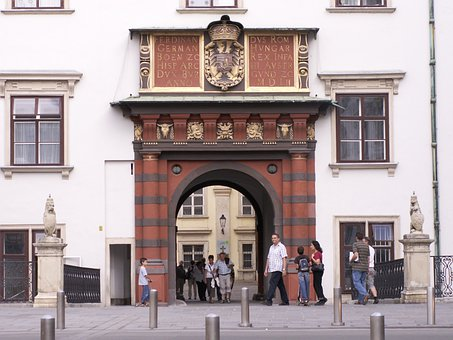 Vienna, Hofburg Imperial Palace, Swiss Gate, Goal