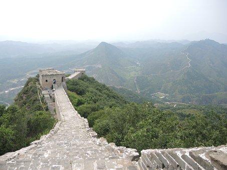 Greatwall, China, Summer, Wall, Mountain, Ancient