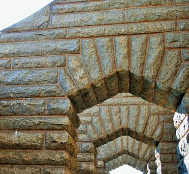 Granite Arches, Arches, Stonework, Granite, Walkway