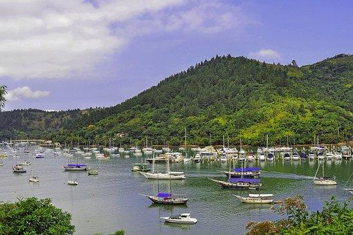 Water, Boats, Landscape, Litoral, Rio De Janeiro