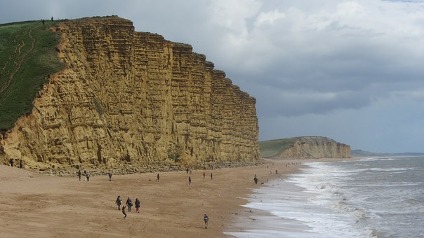 West Bay, Cliffs, Broadchurch, Sea, Coast, Bay, Scenic