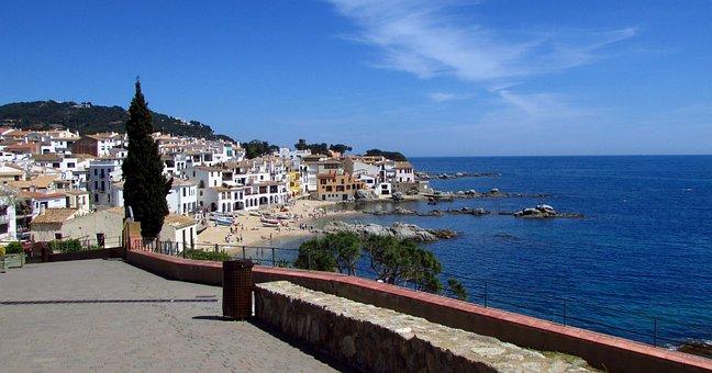 Calella, Sea, Catalonia, Costa Brava, Nature