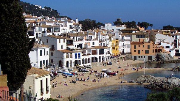 Calella, Calella De Palafrugell, Catalonia, Costa Brava