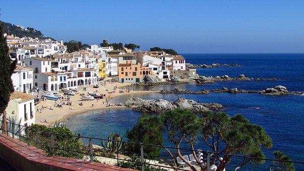 Calella, Sea, Beach, Calella De Palafrugell