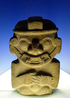 Idol, Museum, Colombia, Symbol