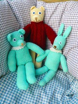 Dolls, Stuffed Animals, Craft, Stuffed Animal