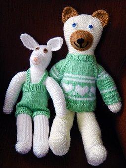 Stuffed Animals, Dolls, Craft, Pehmonukke, Toy