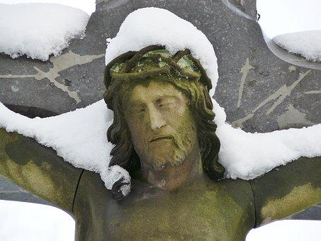 Jesus, Christ, Jesusstaue, Most, Cross, Figure, Faith