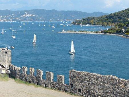 Porto Venere, Castello Doria, Gulf Of La Spezia
