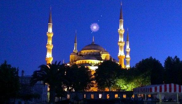 Istanbul, Sultan Ahmet Mosque, Mosque, Religion, Islam
