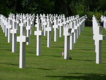 Omaha Beach Memorial, Omaha, Landing, Normandy, Dday