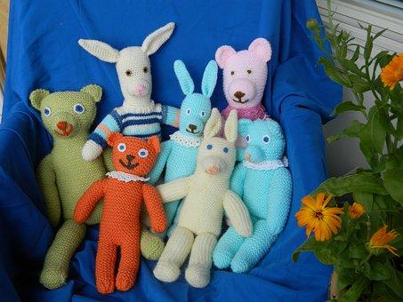 Stuffed Animal, Pehmonukke, Toy, Doll, Pehmoeläin