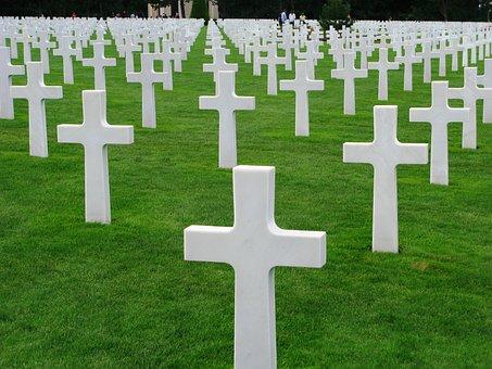Normandy, Cemetery, Second World War, Memorial
