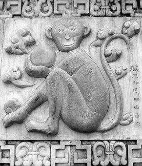 Shen, Monkey, Chinese Horoscope, Animals, Chinese